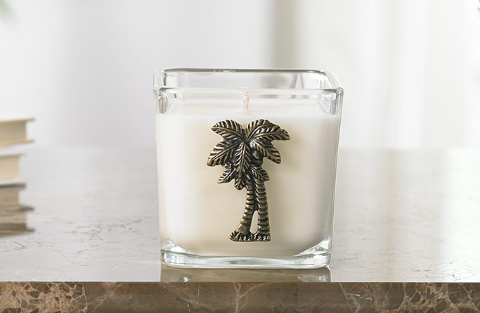 Gaylord Palms Lemongrass Candle