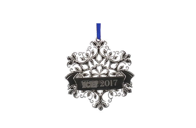 ICE! 2017 Snowflake Ornament