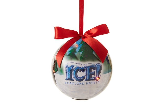ICE! Scenic LED Ornament
