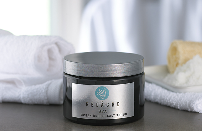 Ocean Breeze Salt Scrub